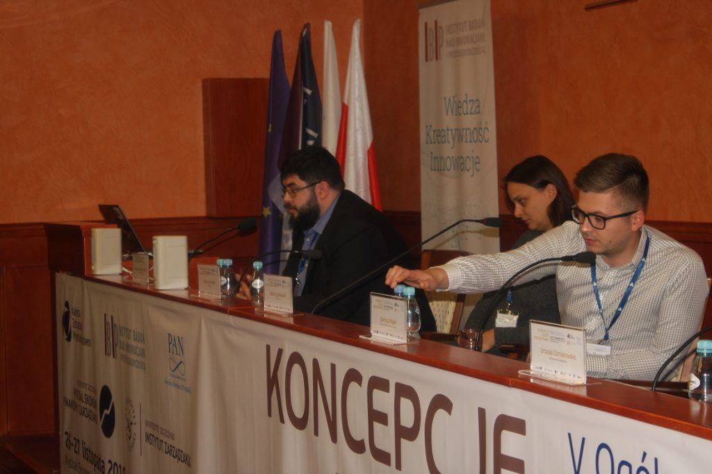 The picture shows the conference