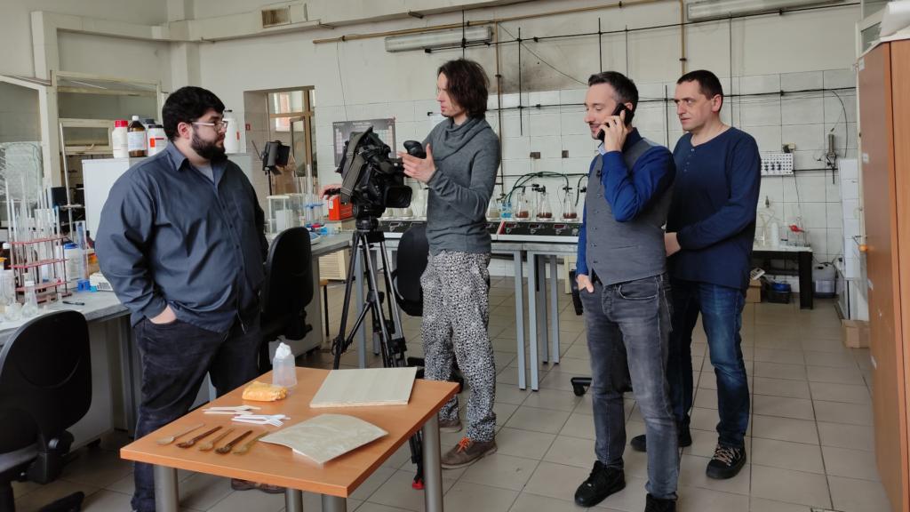 Kadr z nagrania do stacji innowacja odcinek 31